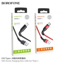 Cáp sạc Borofone CK3 Annie cổng Type-C