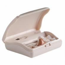 Máy trợ thính siêu nhỏ lỗ tai, hộp sạc di động có đèn Mimitakara (JAPAN) UP-6SXX