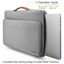 "Túi Tomtoc (USA) Briefcase Macbook Pro 15"" - Gray (A14-D01G)"