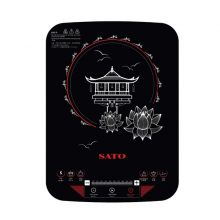 Bếp từ đơn SATO BT045 (Tặng kèm nồi lẩu inox)