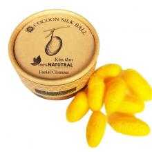 Kén tằm Ecolife dưỡng da - Cocoon Silk Ball Ecolife