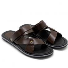 Sandal nam cao cấp Pierre Cardin PCMFWLE127BRW màu nâu