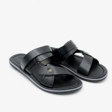 Sandal nam cao cấp Pierre Cardin PCMFWLE127BLK màu đen