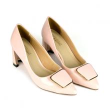 Giày cao gót êm chân Sunday CG41 hồng