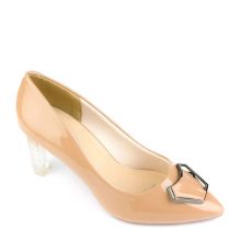 Giày cao gót nhọn SUNDAY CG55 - Màu nâu