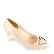 Giày cao gót nhọn SUNDAY CG55 - Màu kem