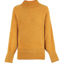 Áo len chui đầu bằng da lộn Gabo Fashion 129376