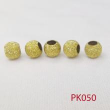 Combo 5 charm tròn ánh kim phối trang sức phụ kiện nam nữ pk050