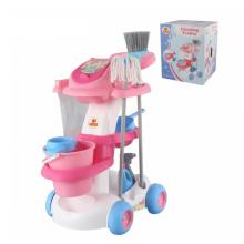 Bộ đồ chơi xe đẩy dọn nhà vệ sinh Số 4 Polesie Toys