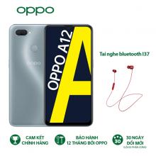 OPPO A12 3GB - Hàng chính hãng - Tặng tai nghe I37