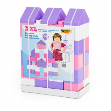 Bộ lắp ghép sáng tạo kích thước lớn 36 chi tiết số 2 đồ chơi Polesie Toys