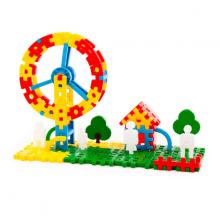 Bộ lắp ghép công viên giải trí Luna Park (118 chi tiết ) đồ chơi Polesie Toys