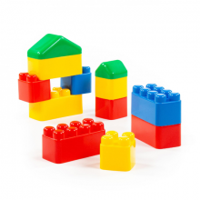 (Mua 2 tặng 1) Bộ lắp ghép sáng tạo 12 chi tiết đồ chơi Polesie Toys