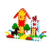 Bộ lắp ghép trang trại ( 112 chi tiết ) đồ chơi Polesie Toys