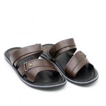 Sandal nam cao cấp Pierre Cardin PCMFWLE129BRW màu nâu