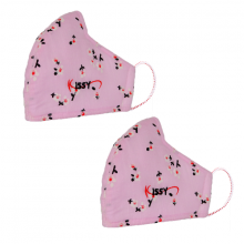 Combo 2 khẩu trang Kissy size M chống bụi mịn hiệu quả M0-0011