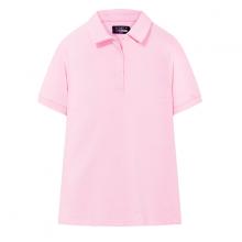 Áo polo nữ The Cosmo TERRIE POLO SHIRT màu hồng TC2002041PI
