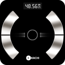 Cân điện tử phân tích chỉ số cơ thể Kachi MK223 - Màu đen