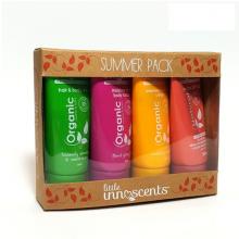 Set 4 sản phẩm du lịch mùa hè Organic sumer pack Little Innoscents