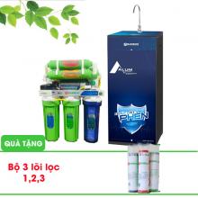 Máy lọc nước R.O Bamboo Alum - Khử phèn (10 cấp lọc) (Tặng kèm bộ 3 lõi lọc 1,2,3)