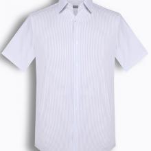 Áo sơ mi nam tay ngắn họa tiết The Shirts Studio Hàn Quốc TD11S2711BL