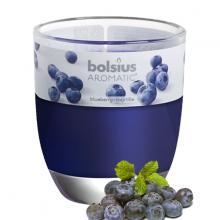 Ly nến thơm tinh dầu Bolsius Blueberry 105g QT024348 - hương việt quất