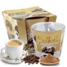 Ly nến thơm tinh dầu Bartek Coffee and Spices 115g QT04961 - cà phê capuchino (giao mẫu ngẫu nhiên)
