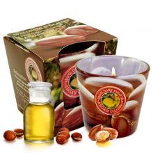 Ly nến thơm tinh dầu Bartek Wellness and Beauty 115g QT00666 - hương hoa bông (giao mẫu ngẫu nhiên)