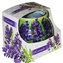 Ly nến thơm tinh dầu Admit Lavender 85g QT04544 - hoa oải hương