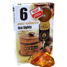 Hộp 6 nến thơm tinh dầu Tealight Admit Anti Tobacco QT026122 - hương hổ phách