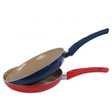 Chảo chống dính đáy từ Ceramic an toàn cán đen 26cm CH15-26