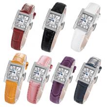 Đồng hồ nữ chính hãng Royal Crown 6306-ST (dây da các màu)