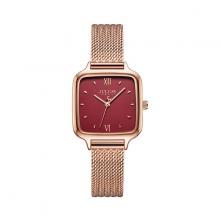 Đồng hồ nữ hàn quốc chính hãng ja-1264 ( đồng mặt đỏ )
