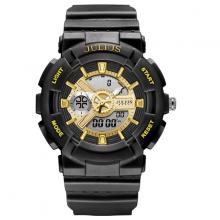 Đồng hồ thể thao chính hãng chống thấm nước ja-1276 (đen)