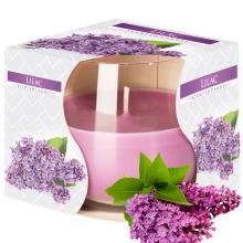 Ly nến thơm tinh dầu Bispol Lilac 100g QT024457 - hoa tử đinh hương