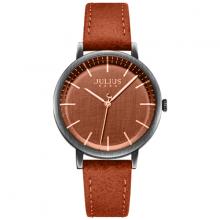 Đồng hồ nữ dây da chính hãng ja-1250 ( màu nâu )