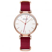 Đồng hồ nữ hàn quốc chính hãng ja-1245 ( đỏ )