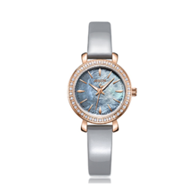 Đồng hồ nữ dây da hàn quốc ja-1079 (xám )