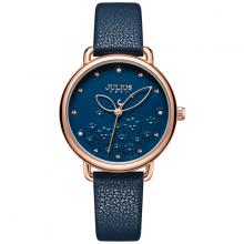 Đồng hồ nữ dây da hàn quốc ja-1239 ( xanh )