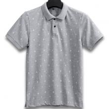 Áo thun nam cổ bẻ họa tiết mỏ neo cao cấp pigo fashion aht04.1 chọn màu