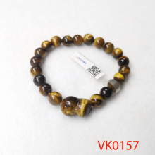 Vòng tay phối hồ ly đá mắt hổ VK0157
