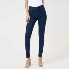 Quần jean nữ skinny xanh đen lưng cao - Aaa Jeans