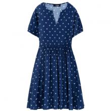 Đầm nữ The Cosmo CAMILLE DRESS màu xanh TC2005241NA