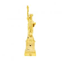 Tượng Nữ Thần Tự Do mạ vàng 24K