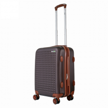 Vali nhựa kéo Trip P803A size 50cm 20 inch Nâu (tặng gối cổ)