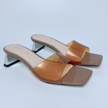 Dép gót quai trong S52952 GIRLIE. kiểu dáng thời trang, thoải mái, êm chân. bảo hành 3 tháng bởi GIRLIE