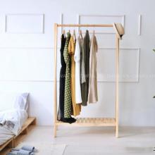 Giá kệ gỗ Diwali chữ a 1 tầng - Kệ gỗ tam giác treo quần áo