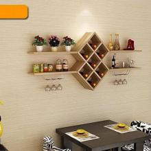 Kệ phòng khách treo tường gp26 (vân gỗ, đen và trắng)