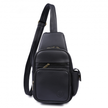 Túi đeo chéo trước ngực 4U da tổng hợp thời trang BA416