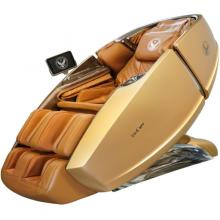 Ghế Massage Phi Thuyền Vũ Trụ SS 919X – Màu vàng 24K – Nội thất nâu vàng